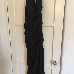 Black Long Nicole Miller Evening gown